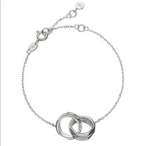 Links of London interlocking 20-20 bracelet